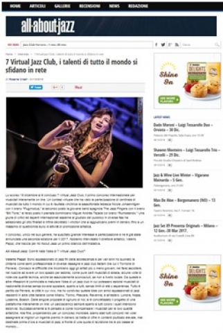 From ''All about jazz Italy''