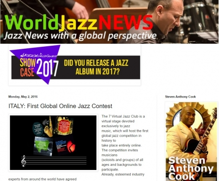 From ''World Jazz News'' Holland