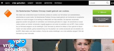 From ''VPRO'' Netherlands